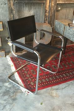 industrial machine age mid century modern chrome chair by royal