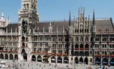 Munich Germany - pretty much amazing. The City Hall has a clock tower that chimes and is animated. You can't miss this if you're ever in Munich.