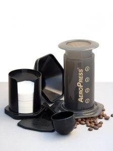 Kapucziner coffee with AeroPress!