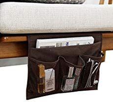 Tidy Bedside Desk Mattress Organizer Hanging Storage Bag Dorm Room G