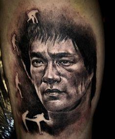 Portrait Tattoos by Mark Powell