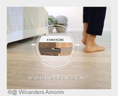 Wicanders Authentica Kork-Design-Parkett - mehr als nur ein Bodenbelag  Absolut komfortabel, nachhaltig, langlebig und schön - das ist die neue Korkboden-Kollektion Wicanders Authentica von Amorin Wicanders. Der weltweit größte Hersteller von Korkboden-Produkten stellt unter seiner Premiummarke Wicanders ökologisch wertvolle und stilv