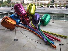tulip balloons sculpture Koons