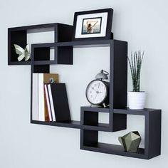 Black Wall Shelves, Box Shelves, Wall Bookshelves, Floating Wall Shelves, Wall Shelves Design, Wall Mounted Shelves, Metal Shelves, Display Shelves, Storage Shelves