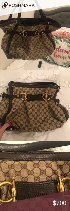 f580c3557ae8e4 Gucci Bag In Brand New Condition This is the perfect size bag for everyday  use.