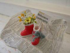 Chatoran+ 樹脂粘土で12分の1サイズのお花を制作しています