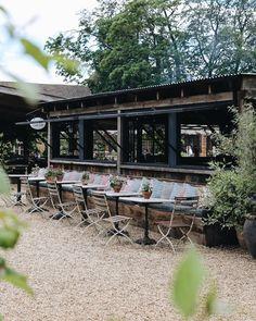 Farmhouse Cafe, Farmhouse Restaurant, Farmhouse Garden, French Farmhouse, Farm Cafe, Farm Shop, Courtyard Cafe, Outside Room, Pump House