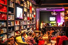 Welcome to Downtown Las Vegas' premier bar. This new lounge flaunts dazzling decor reminiscent of the speakeasy era. Baby Shower Venues, The Company Store, Store Fronts, Good Vibes, Las Vegas, Interior, Instagram Posts, Bar Stuff, Celebrations