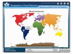 IATA Geography in Travel Planning Course  #RiyaInstitute #IATA