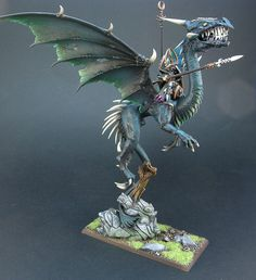 The Internet's largest gallery of painted miniatures, with a large repository of how-to articles on miniature painting Warhammer Dark Elves, Warhammer Fantasy, Warhammer 40k Tyranids, Figurines Warhammer, Wood Elf, High Elf, Dark Elf, Monster Design, Fantasy Armor
