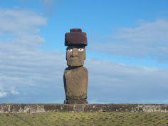 Restored Pukao Tahai Easter Island