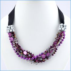 Orchid Twist Necklace