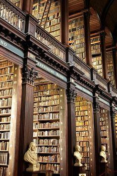 Trinity Library – Dublin Ireland