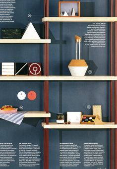 Copper pipe shelving system