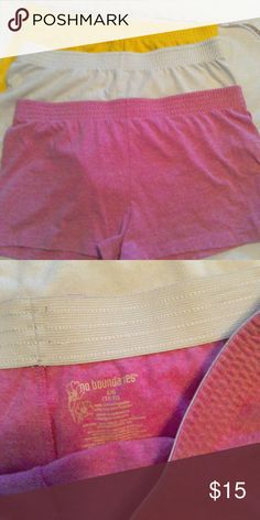 3 pair shorts Used. Great condition. Just don't fit. No Boundaries Shorts