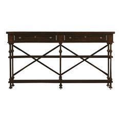 Stanley Furniture 018 European Farmhouse Belgian Cross Huntboard