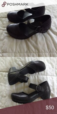 Mary Jane Makenna Dansko Clogs Great for work that involves standing for  long periods of time. In good condition Dansko Shoes Mules   Clogs e2d0d37973a