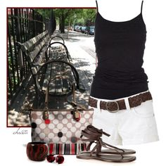 Lunch in the Park, created by christa72 on Polyvore