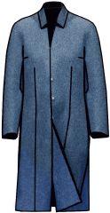 Примеры разработки моделей плащей, пальто-деми на основах рассчитанных в программе Закройщик Fashion Sewing, Chef Jackets, Sewing Patterns, Shirt Dress, Coat, Mens Tops, Shirts, Dresses, Modeling