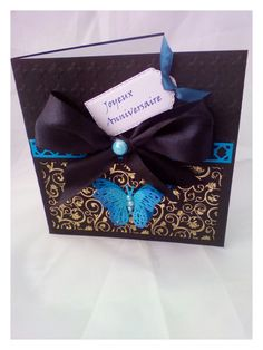 Excited to share the latest addition to my #etsy shop: personalized card, bon anniversaire,butterfly card,Birthday card http://etsy.me/2FNUxpV #papergoods #black #birthday #blue #birthdaycard #personalizedcard #anyoccasioncard #thankyoucard #welcomecard