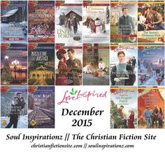 Giveaway at Soul Inspirationz: December 2015 Releases in Category Fiction #BookGiveaway