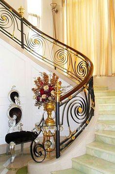 escadas de luxo