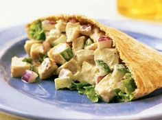 Chicken salad pockets - 3 pt