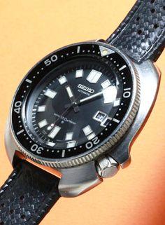 "SEIKO  Diver Watch 150m Called ""Uemura"" Cal.6105B 1970'S  #vintagewatch #seiko #vintageseiko #diverwatch #vintagediver #vintagediverwatch"