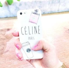 Phone case. Paris. Starbucks. Channel. Super cute!