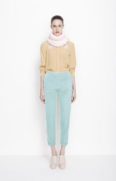 the colors + outfit. ++ teardrop blouse ++ harriet