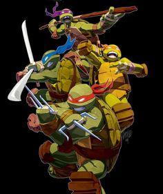 Teenage Mutant Ninja Turtles by Jeff Cruz *