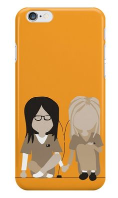 Our Piper & Alex - Orange Is The New Black Phone Case is available online now for just £ 5.99.    Fan of Piper Chapman & Alex Vause? You'll love this Orange is the new Black phone case.    Material: Plastic, Production Method: Printed, Authenticity: Unofficial, Weight: 28g, Thickness: 12mm, Colour Sides: Clear, Compatible With: iPhone 4/4s | iPhone 5/5s/SE | iPhone 5c | iPhone 6/6s | iPhone 7 | iPod 4th/5th Generation | Galaxy S4 | Galaxy S5 | Galaxy S6 | Galaxy S6 Edge | Galaxy S7 | Galaxy