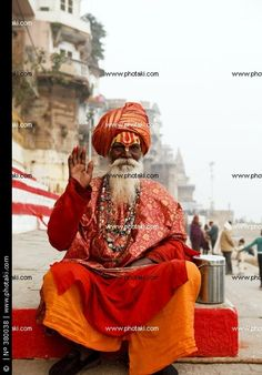 http://www.photaki.com/picture-sadhu-in-the-river-ganges-berane-india_380038.htm