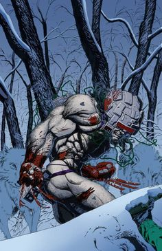 AWESOME WARNING: Weapon X •Tony Parker #PunisherApproved #WolverineWednesday