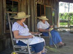 Flagler Ag Museum women making hats
