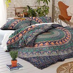 Queen-Duvet-Cover-Set-Hippie-Bohemian-Mandala-Quilt-Doona-Indian-Comforter-New