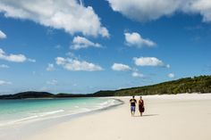 Gravação de Totalmente Demais na praia de Whitehaven, na Austrália - Crédito Globo/Renato Rocha Miranda http://gshow.globo.com/
