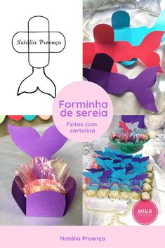Mermaid Party Favors, Mermaid Birthday Cakes, Mermaid Party Decorations, 1st Birthday Girls, 4th Birthday Parties, Mermaid Baby Showers, Little Mermaid Parties, Festa Party, Sleepover Party
