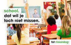 Heb jij groen bloed? En wil aan de slag binnen het voortgezet, middelbaar, hoger of speciaal onderwijs? We zoeken door heel het land bruisende professionals. Kijk op: https://www.maandag.nl/2388/Onderwijs.html