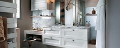 Salle de bains Mobalpa Galante Shop Interior Design, Interior Design Inspiration, Bathroom Furniture Design, Ikea Couch, Entertainment Room, Bars For Home, Room Colors, Double Vanity, Kitchen Design