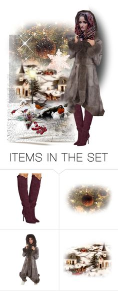 """Winter beauty.... Winter doll Contest."" by julidrops ❤ liked on Polyvore featuring art, Winter, Christmas and dollsrus"