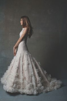 Isabelle Armstrong 2014 Bridal Collection.  One of our faves! 212 872 8957