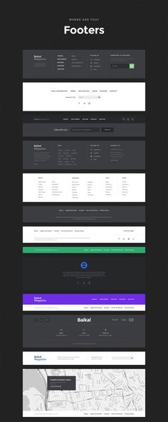 Buy Baikal UI Kit - Huge Set Of UI Components by greatsimple on ThemeForest. Baikal UI Kit contains a great number of simple components, made using the same styles that fit together perfectly. Web And App Design, Flat Web Design, Minimal Web Design, Web Design Blog, Web Design Trends, Clean Design, Banner Web Design, Layout Design, Footer Design