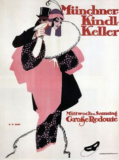 Hans Rudi Erdt. Kindl Keller. 1913 by kitchener.lord, via Flickr