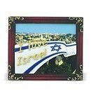 Israeli flag  fridge magnet rubber I Love israel gift regalos judios Cadeau juif