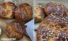 Low carb recipe for a delicious chia protein bread. - Low carb recipe for a delicious chia protein bread. Low carbohydrates and easy to cook. Healthy Burger Recipes, Paleo Recipes, Low Carb Recipes, Protein Recipes, Easy Homemade Burgers, Protein Bread, Low Carb Diet, Zucchini, Food And Drink