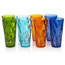 8pc Break-resistant Restaurant-quality SAN Plastic 28-ounce Iced Tea Cup Tumblers in 4 Assorted Colors // Description Set consists of 8 brightly colored, commercial grade, 28-ounce iced tea tumblers. Vibrant colors of shamrock green, island blue, tangerine orange, and calypso teal. These colorful drinking cups add whimsy to place settings. Great for everyday use. Perfect for poolside and BBQ part// read more >>> http://Julia441.iigogogo.tk/detail3.php?a=B00HCMGMKG