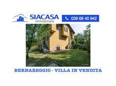 Immobiliare Siacasa Vende a Bernareggio: Villa con giardino (Monza Brian...