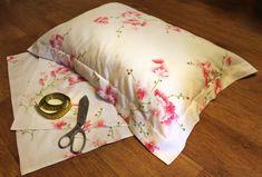 """УРОК ШИТЬЯ .Все готовые размеры для любой подушки под видео. Как сшить постельное бельё? Шьём наволочку с """" Ушками"""" для постельного белья, с боковым входом в..."""