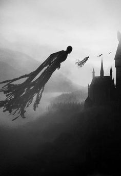 harry potter, hogwarts, and dementor image Harry Potter Tumblr, Harry Potter Tattoos, Harry Potter Dementors, Harry Potter Pictures, Harry Potter Fandom, Harry Potter Hogwarts, Harry Potter World, Magia Harry Potter, Arte Do Harry Potter